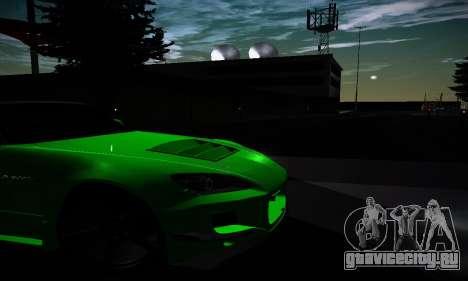 Honda S2000 Amuse GT1 для GTA San Andreas вид изнутри