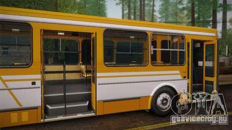 ЛиАЗ 5256.00 для GTA San Andreas вид сверху