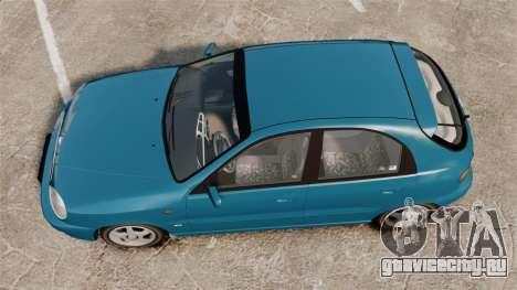 Daewoo Lanos PL 2001 для GTA 4 вид справа