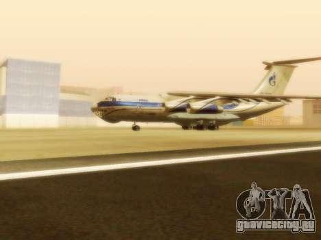 Ил-76ТД ГазпромАвиа для GTA San Andreas вид слева