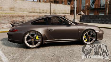 Porsche 911 Sport Classic 2010 для GTA 4 вид слева