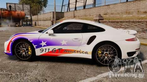 Porsche 911 Turbo 2014 [EPM] America для GTA 4 вид слева