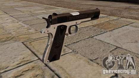 Полуавтоматический пистолет Taurus PT1911 для GTA 4 второй скриншот