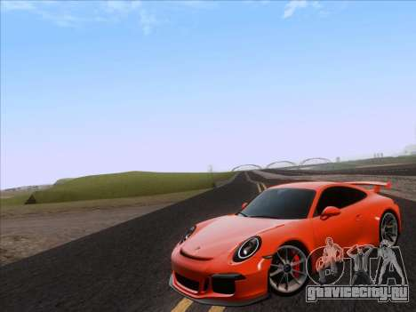 Porsche 911 GT3 2014 для GTA San Andreas вид слева