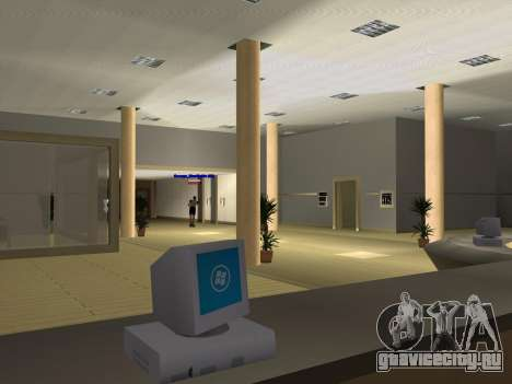 Новые текстуры интерьера Мэрии для GTA San Andreas десятый скриншот