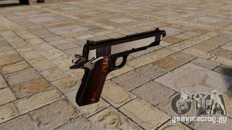 Пистолет Colt 1911 Snake Eater для GTA 4 второй скриншот