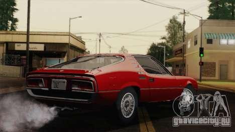 Alfa Romeo Montreal (105) 1970 для GTA San Andreas вид слева