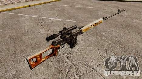 Снайперская винтовка Драгунова v1 для GTA 4 второй скриншот