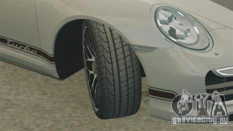Porsche 911 Turbo 2014 [EPM] TechArt Design для GTA 4 вид сбоку