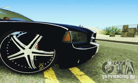 Dodge Charger DUB для GTA San Andreas вид сверху