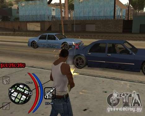 C-HUD Carbon для GTA San Andreas третий скриншот
