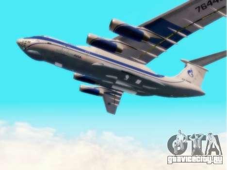 Ил-76ТД ГазпромАвиа для GTA San Andreas вид сзади