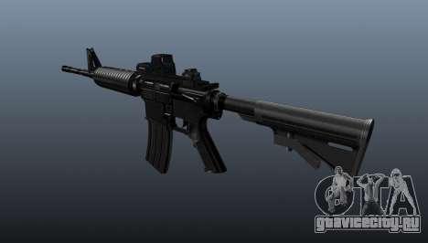 Автоматический карабин M4A1 Tactical для GTA 4 второй скриншот