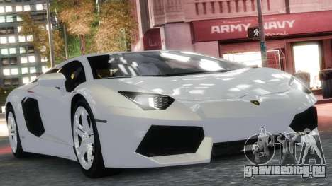Lamborghini Aventador LP700-4 [EPM] 2012 для GTA 4 вид изнутри