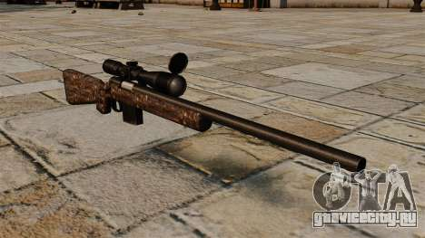 Снайперская винтовка M40 грязная для GTA 4