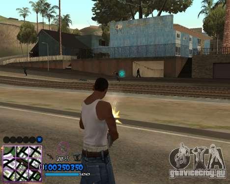 C-HUD by Dony Scofield для GTA San Andreas третий скриншот