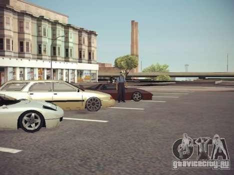 GTA SA Low Style v1 для GTA San Andreas пятый скриншот