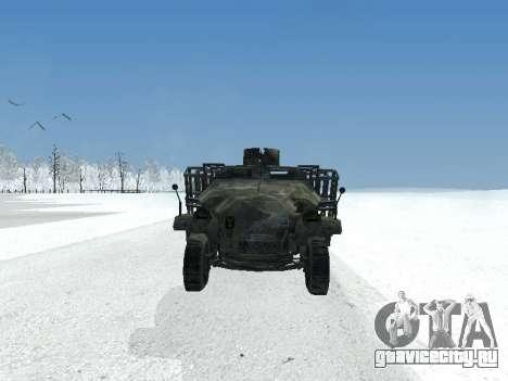 SdKfz 251 для GTA San Andreas вид слева