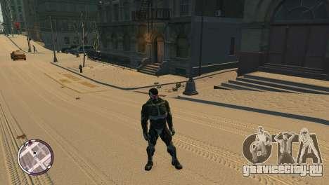 Crysis NanoSuit для GTA 4 третий скриншот