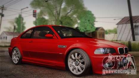 BMW E46 M3 Coupe для GTA San Andreas