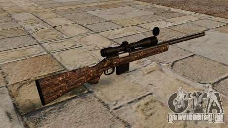 Снайперская винтовка M40 грязная для GTA 4 второй скриншот