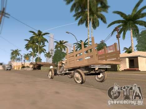 Citroen 2CV (Diana) для GTA San Andreas вид справа