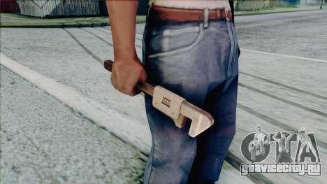Разводной ключ для GTA San Andreas пятый скриншот