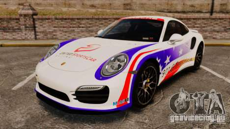 Porsche 911 Turbo 2014 [EPM] America для GTA 4