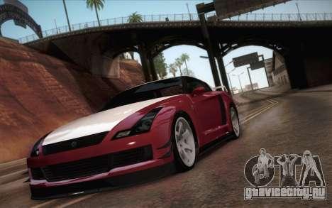 Elegy RH8 from GTA V для GTA San Andreas вид слева