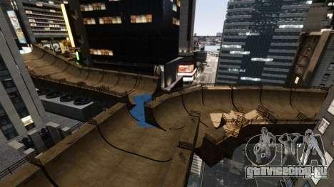 Algonquin Stunt Ramp для GTA 4 пятый скриншот
