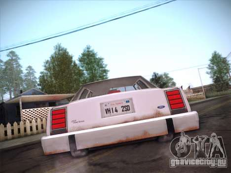 Ford LTD Crown Victoria 1985 для GTA San Andreas вид снизу