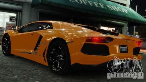 Lamborghini Aventador LP700-4 [EPM] 2012 для GTA 4 колёса