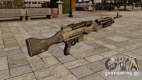 Единый пулемёт M240 для GTA 4 второй скриншот