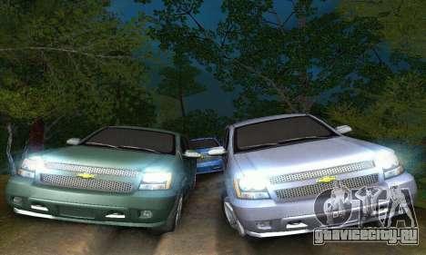 Chevrolet Suburban 2008 для GTA San Andreas вид изнутри