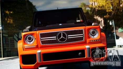 Mercedes-Benz G65 AMG 2013 для GTA 4 вид справа