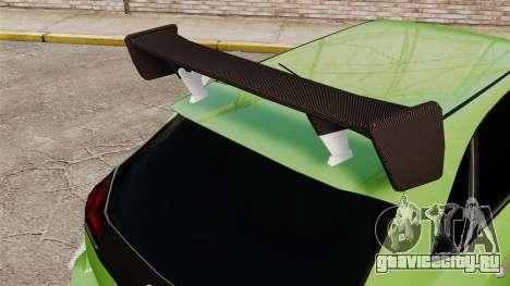 Extreme Spoiler Adder 1.0.7.0 для GTA 4 второй скриншот