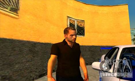 Paul Walker для GTA San Andreas третий скриншот