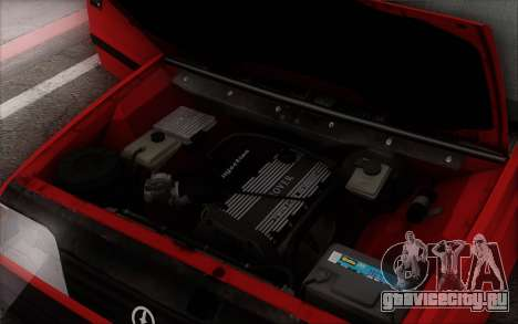 FSO Polonez Caro 1.4 GLI 16V для GTA San Andreas салон