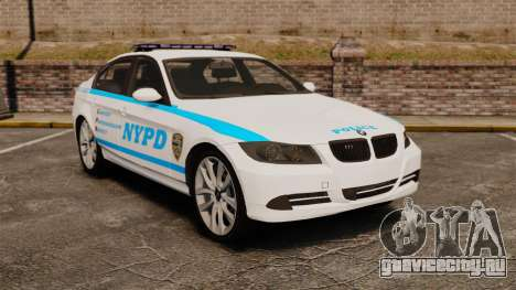 BMW 350i NYPD [ELS] для GTA 4