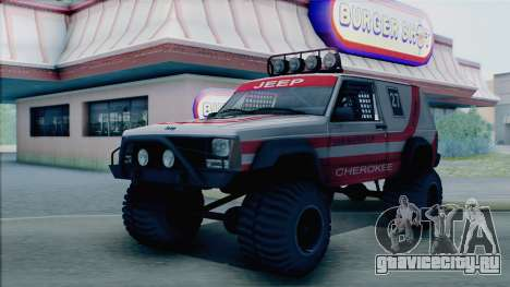 Jeep Cherokee 1984 Sandking для GTA San Andreas