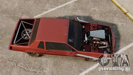 Sabre Rod Ride [Update] для GTA 4 вид справа