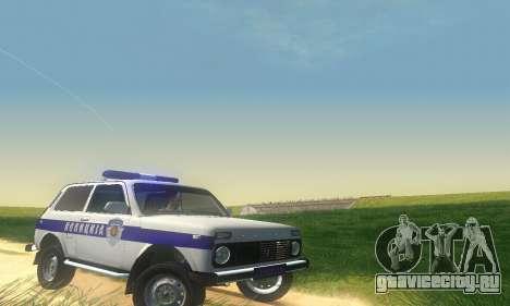 Lada Niva Patrola для GTA San Andreas