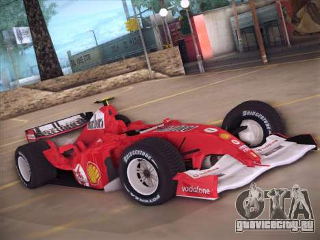 Ferrari F1 2005 для GTA San Andreas