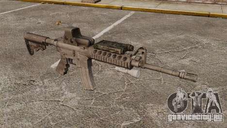 Автомат M4 SOPMOD v3 для GTA 4