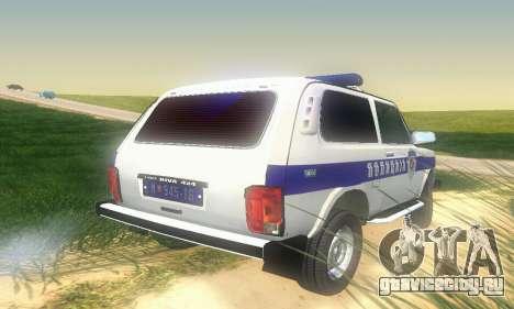 Lada Niva Patrola для GTA San Andreas вид справа