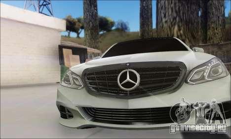 Mercedes-Benz W212 AMG v2.0 для GTA San Andreas