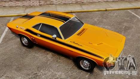 Dodge Challenger 1971 v2 для GTA 4 салон
