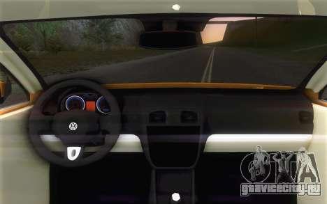Volkswagen Vento 2012 для GTA San Andreas вид справа