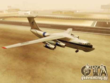 Ил-76ТД ГазпромАвиа для GTA San Andreas