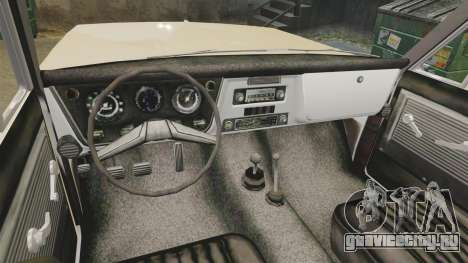 Chevrolet Blazer K5 1972 для GTA 4 вид сзади